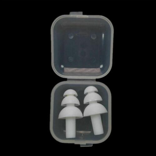 Silikon Ohrstöpsel Gehörschutzstöpsel Lärmschutz Gehörschutz für Studie Schlafen