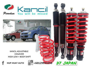 KANCIL-MIRA-L2S-L512-D7-JAPAN-ADJUSTABLE-COILOVER-HIGH-LOW-BODY-SHIFT