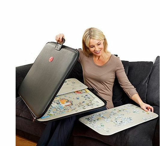 Portapuzzle X Large Jigsaw Puzzle Board Mat Case Jumbo 1000 pièces Zip Up & Go