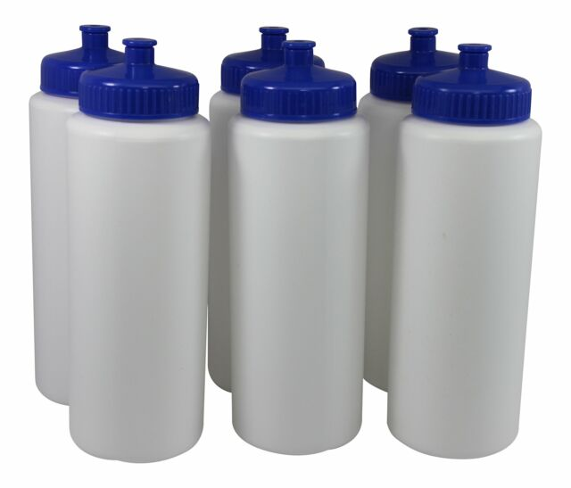 10//2 Free Bottles Sports Squeeze Plastic Water Bottles Push//pull Cap 12 total