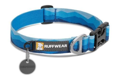 Ruffwear Gear New Hoopie Dog Collar Secure soft durable webbing Sizes Outdoor