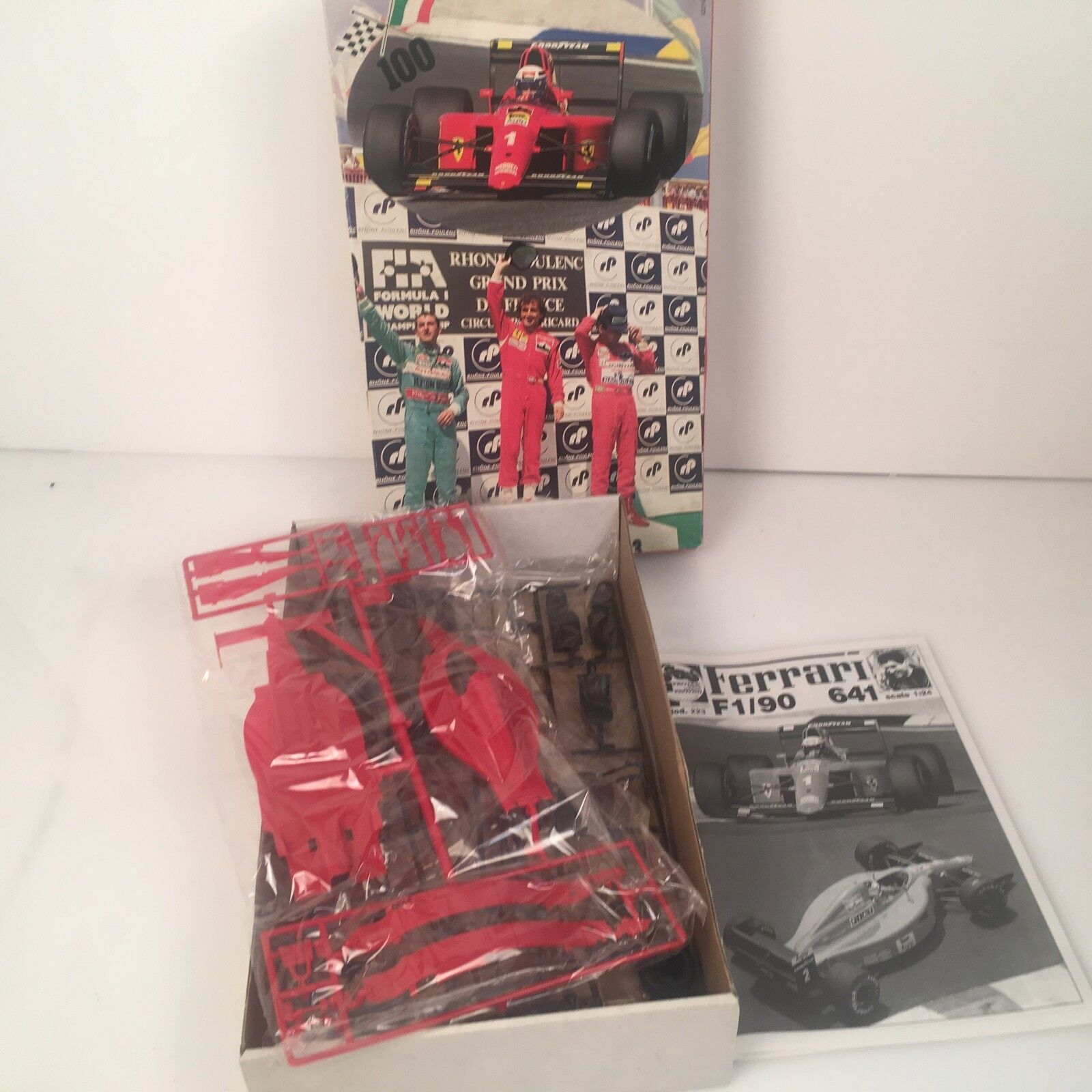 Ferrari F1 90 641 Model KIT (Projoar) scala 1 24