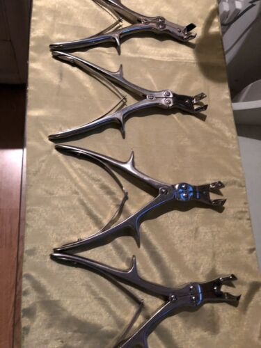 4  Compound Action Bone Cutter Thackray England Stainless Steel