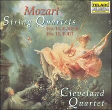 Mozart: String Quartets 14 & 15, New Music
