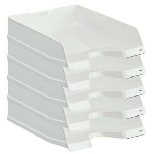 5X Briefkorb Briefablage Ablagekorb Briefkörbe Ablagesysteme HAN A4 C4 ELEGANCE