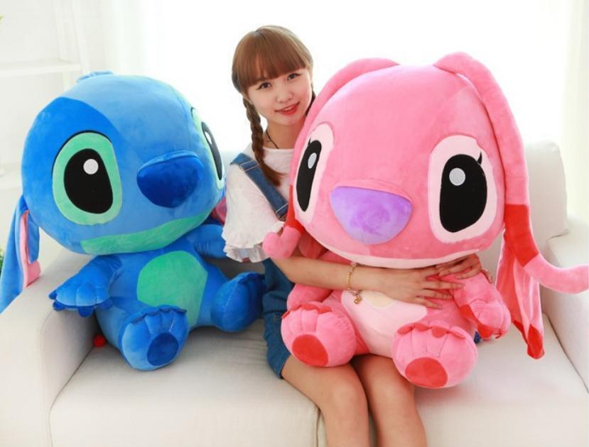New Huge Big Plush Lilo & Stitch Soft Stuffed Toy Doll kids favor Xmas kids Gift