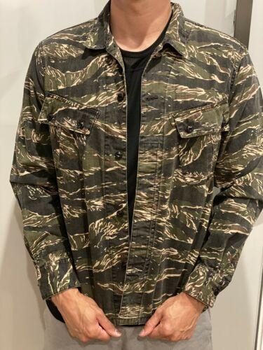 NEIGHBORHOOD Japan Overshirt Tiger Camo