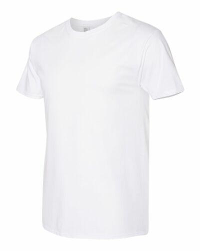 Jerzees Hombre Dri-power Ringspun Classic Fit Camiseta en Blanco Llano 460R hasta 3XL