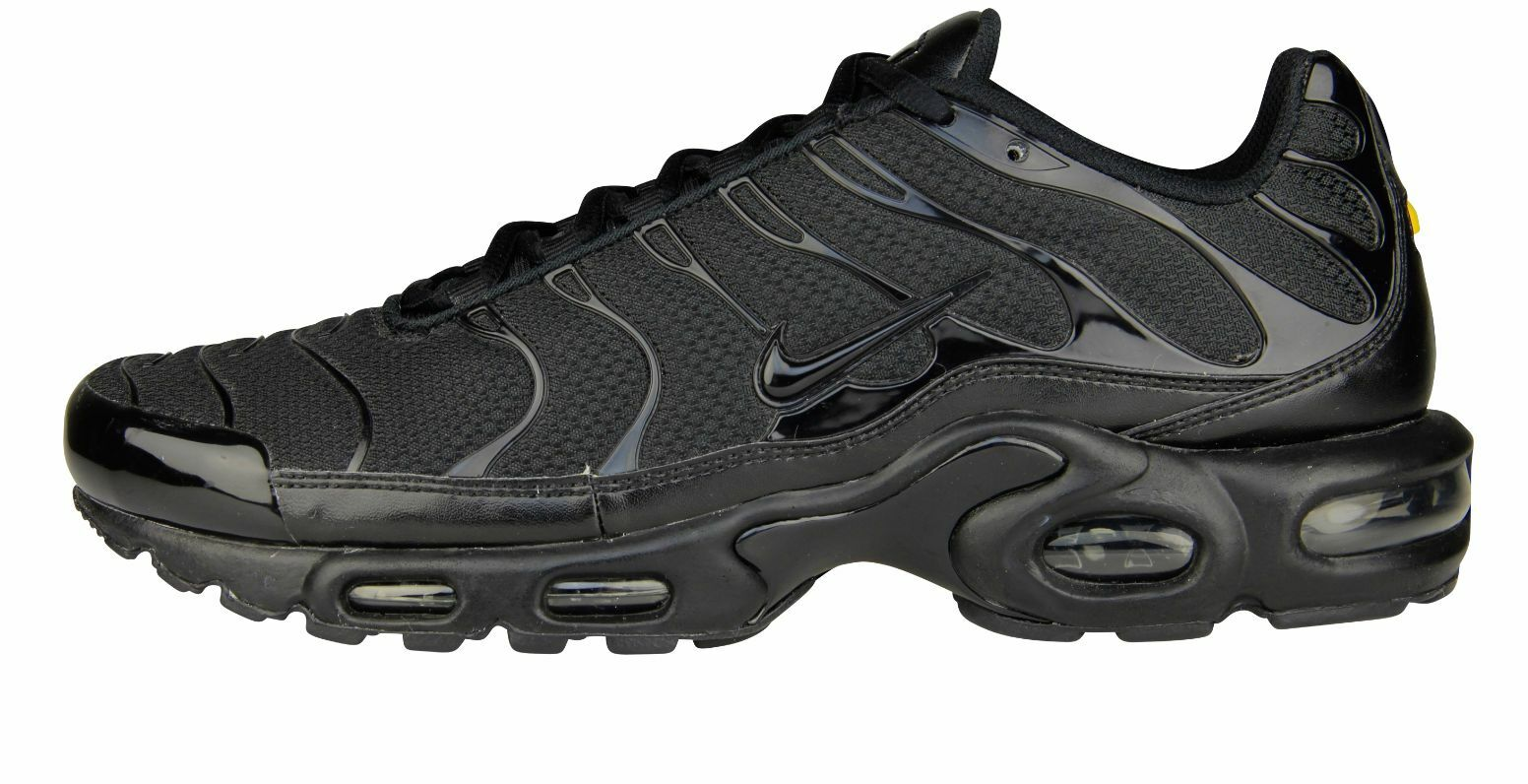 ee980994843 50%OFF Nike Air Max Plus Tuned 1 Tn Triple Black 6 7 8 9 10 11 12 ...