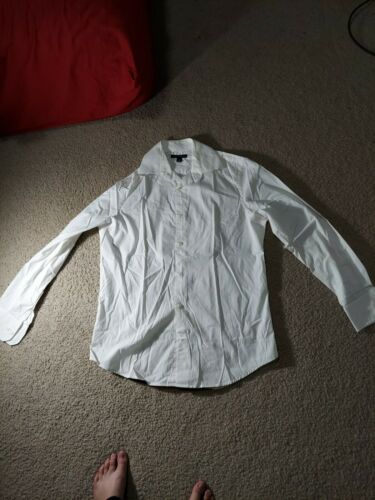 Banana Republic Cotton Stretch Fitted Button Down
