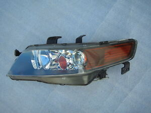 ACURA TSX Headlight Front Lamp Xenon OEM HID - 2006 acura tsx headlights