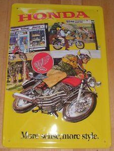 HONDA-TIN-SIGN-MOTORCYCLE-NEW