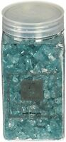 Crushed Glass Stones, Glitter Garden Ponds Decor Lawn Gifts Aquamarine