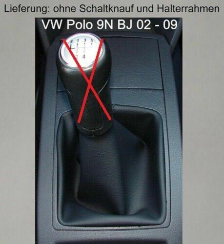 VW Polo 9N 9N3 Farben Schaltsack Schaltmanschette Schalthebelmanschette