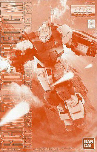 Bandai Mg 1 100 Rgm-79 Alimentato GM Modello Plastica Kit Gundam 0083 Nuovo Da