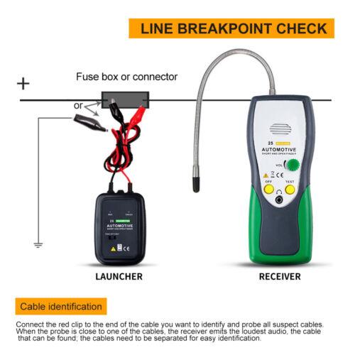 Auto-Kurzschluss-Sucher-Detektor-Kabel-Draht-Verfolger ...