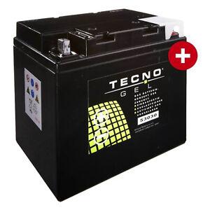 GEL-Batterie-53030-fuer-BMW-K-100-RS4V-ABS-Baujahr-1989-1992-von-Tecno
