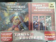 Transformers The Movie Animated DVD 2006 2-Disc Set 20th Ann + Bonus Disc