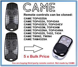 5 x est arrivé TOP432EV- TOP434EV Universal Remote Control Duplicator 433.92 MHz.-afficher le titre d`origine Vt1fL042-07134845-539473985