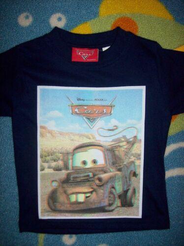Disney Cars Shirt Tee Boys T-Shirt 2Toddler McQueen Matter New