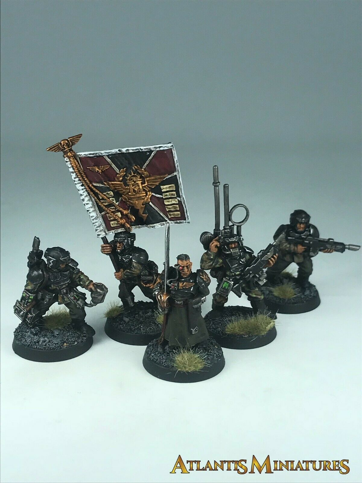 Imperial Guard Command Squad - OOP - Warhammer 40K CC563