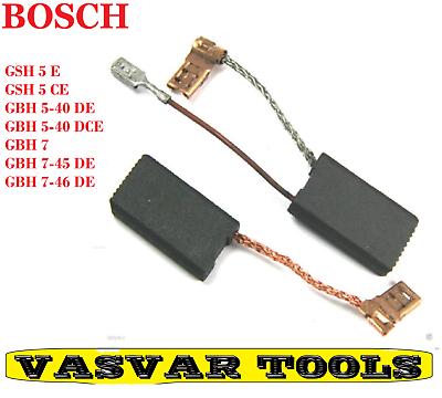 2x Kohlebürsten für Bosch GSH 5 CE 3 611 C21 0E0 3 611 C21 0G0 3 611 C21 0H0