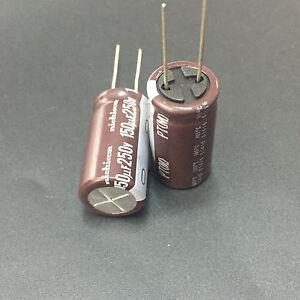 Replacing for 25V 16V 12V 6V 1 PCs 250UF 250MF 50V CAP AXIAL 105°C CAPACITOR