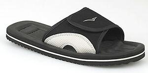Para Hombre Flip Flop Chinelas Sandalias Playa ducha Negro Sol De Invierno vacaciones Luz Nuevo