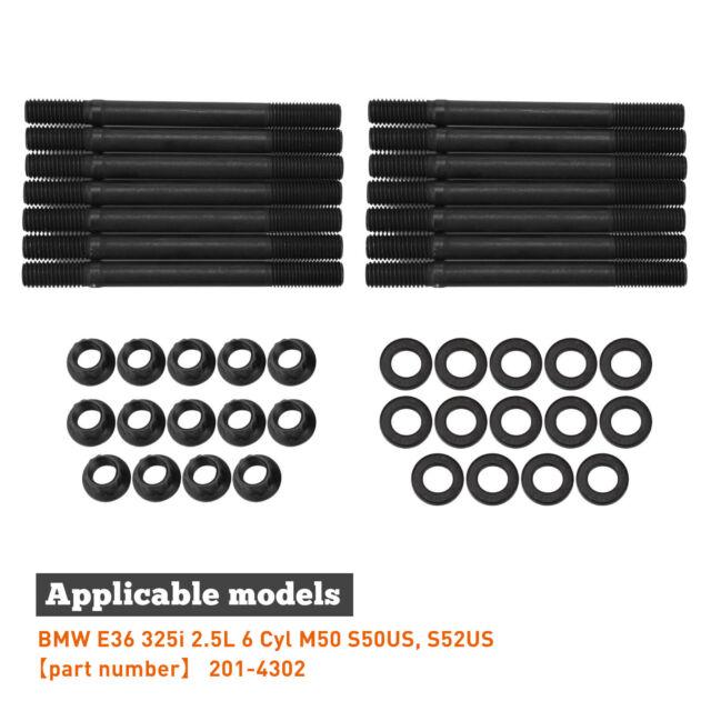 S52US ARP 201-4302 HEAD STUD KIT BMW E36 325i 2.5L 6 Cyl M50 S50US