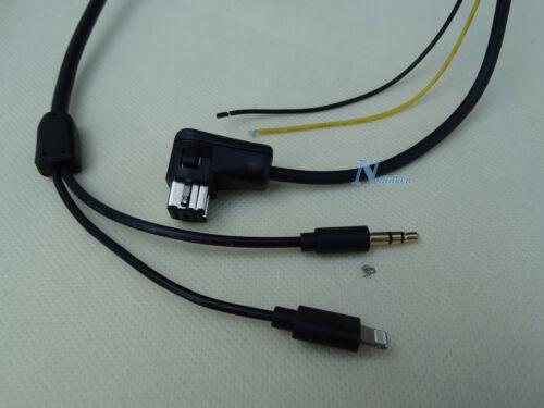 PIONEER IP-BUS 8-PIN LIGHTNING iPHONE 6S 6 5 AUX CABLE AVIC-Z1 AVIC-Z2 AVIC-Z3