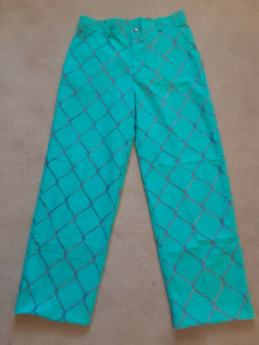 Vintage Life's a beach pants-- Chain Links