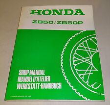 Taller de mano libro honda Monkey zb50, zb50p, stand 1988