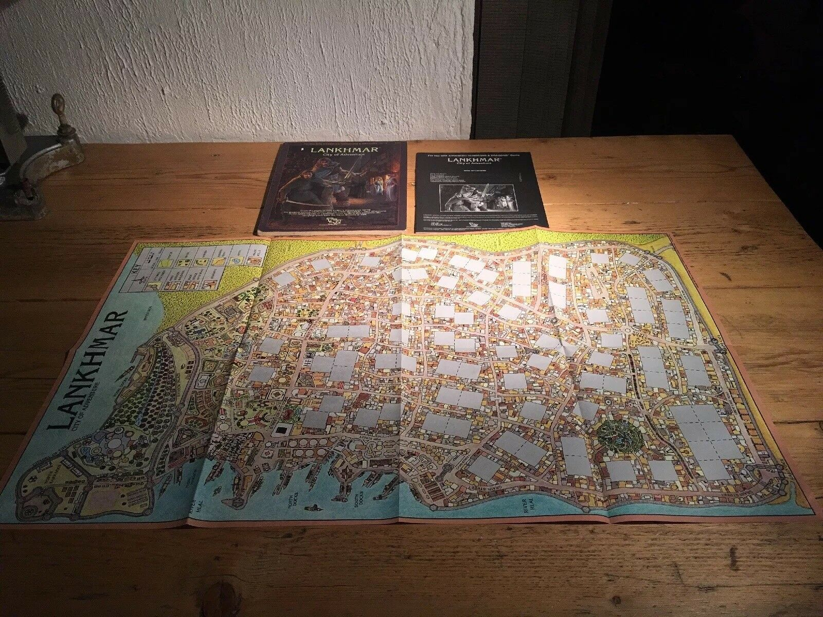 Lankhmar City of Adventure Advanced Dungeons Dragons 1985 Unused
