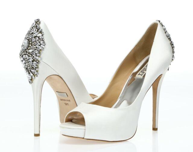 Badgley Mischka Kiara Jeweled Heel