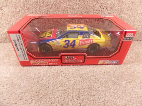 1995 Racing Champions 1:24 Diecast NASCAR Mike McLaughlin Black Flag Monte Carlo