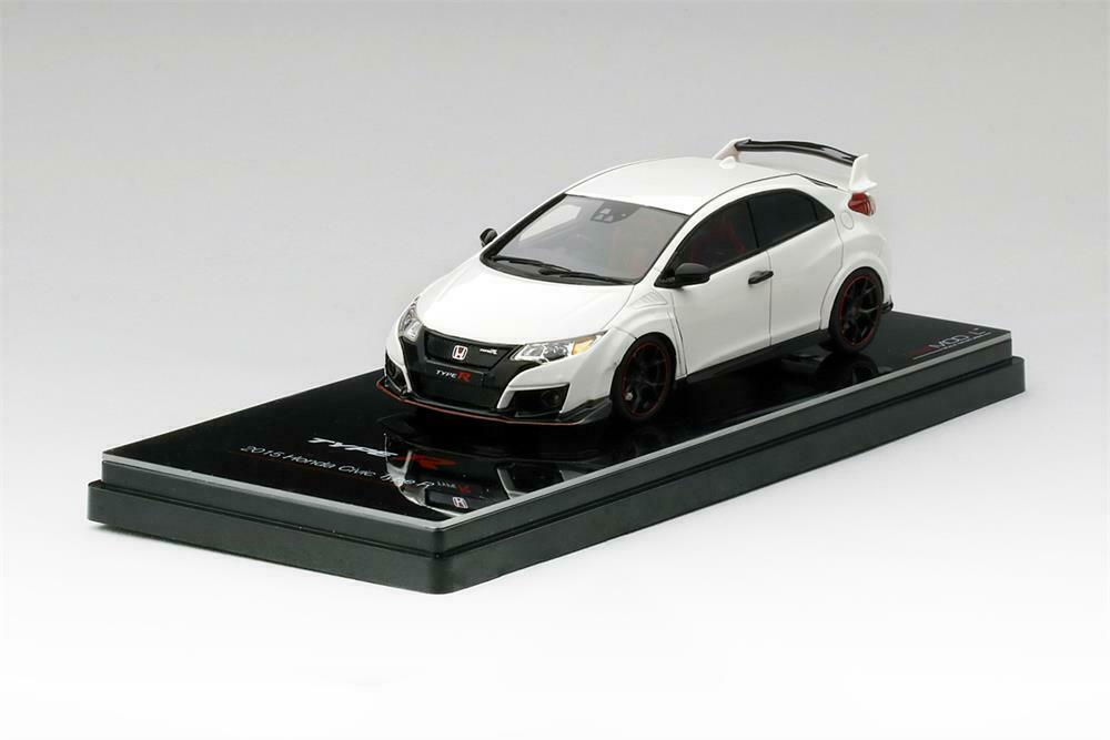 2015 Honda Civic Type R Championship Weiß in 1 43 Scale by TSM