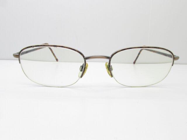 802c2c87d87e Giorgio Armani 255 1021 Eyewear FRAMES 52-20-140 Half Rimless TV6 33119