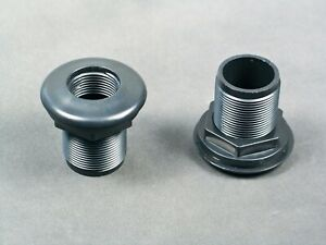 1-2-034-0-5-034-Thread-x-Slip-Bulkhead-Fitting-by-CPR-with-Silicone-Washer