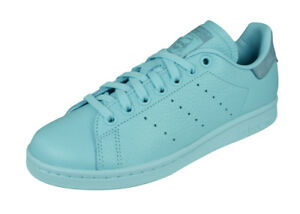 new product 808e9 ae807 Image is loading adidas-Originals-Stan-Smith-Mens-Leather-Sneakers-Retro-
