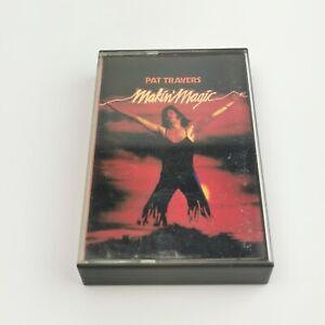 ~ Rare VTG ~ Pat Travers ~ Makin Magic ~ Audio Cassette Tape ~ Polydor ~ 1977 ~