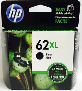 New-Genuine-HP-62XL-Blk-Ink-Cartridge-Envy-5540-5541-Officejet-5740-5741-5742
