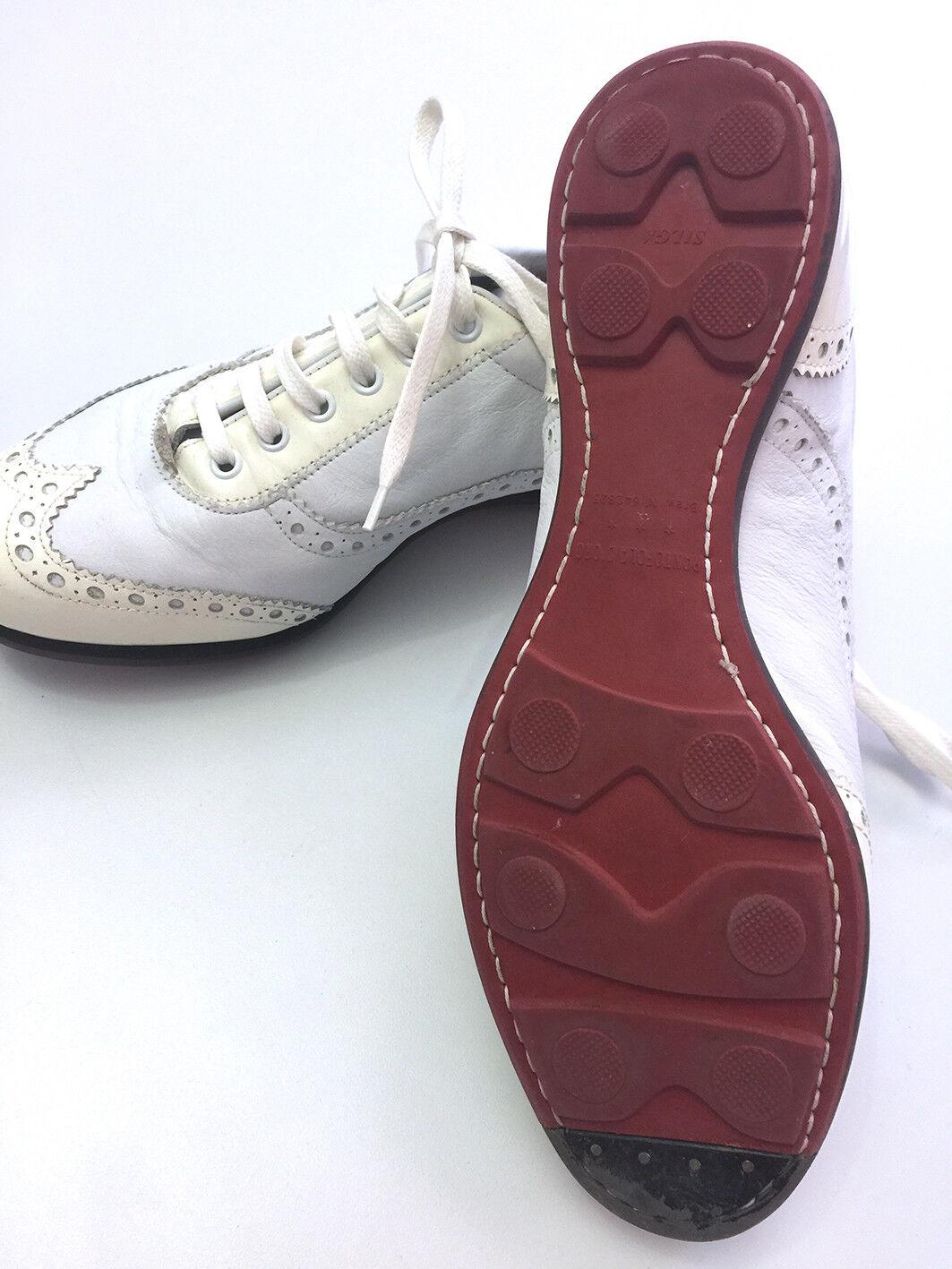 Pantofola D 'Oro Designer Scarpe, Sneaker, Pelle, Bianco, Tg. 41