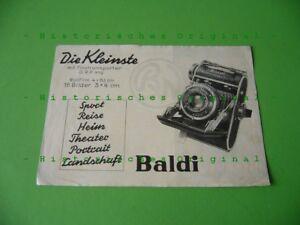 Alter-Balda-Kamera-Prospekt-um-1938-ueber-die-Baldi-3-x-4