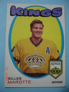 Authentic-1971-72-O-Pee-Chee-151-Gilles-Marotte-034-Vintage-034-Card-N-MT