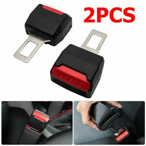 2X-Coche-Asiento-Cinturon-de-Seguridad-Cinturon-Hebilla-Adaptador-Extensor-Clip