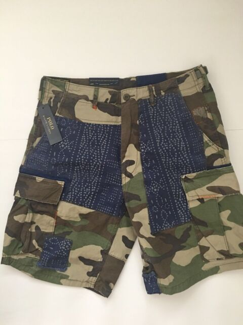 dc30a221df84c ... best price polo ralph lauren mens relaxed fit camouflage camo patchwork  shorts size 31 nwt f0a7d