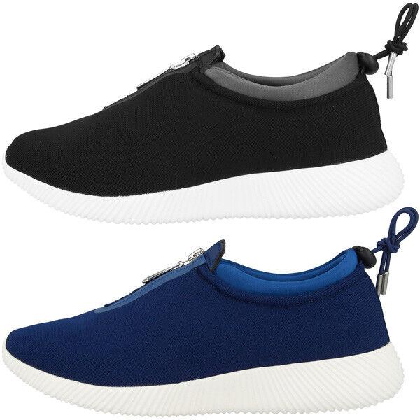 Chung Lycra Shi Duxfree Aruba Damens Schuhe Damen Lycra Chung Zipper Sneaker Sport Freizeit c5fd3f