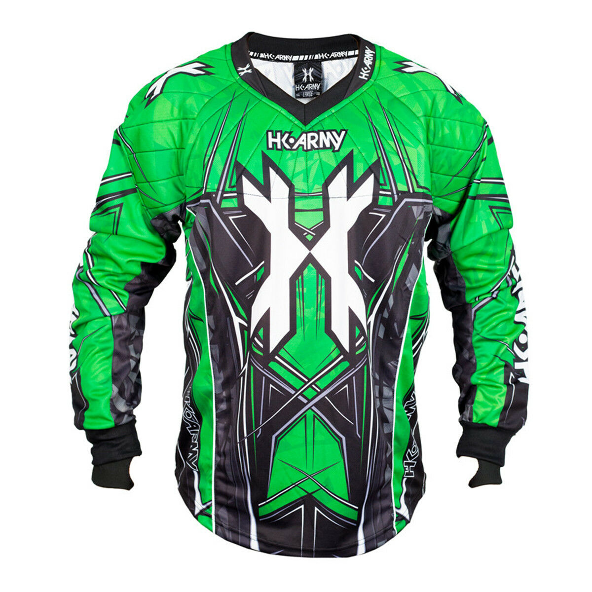 HK Army HSTL Line Paintball Jersey - Neon Green - XL