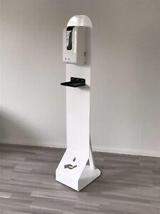 Design Hygiene Säule - Desinfektionsstation mit Sensor Spender