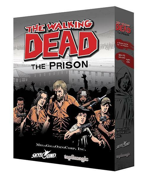 The Walking Walking Walking Dead  The Prison Board Game PSI TWDP-0141 bb261f